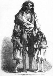 Irish potato famine 1845 - 1852
